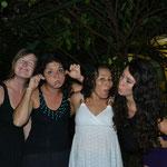 Nuestra despedida! - Simone, Lisa, Flor, yo -