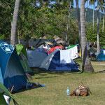 Zona de acampar