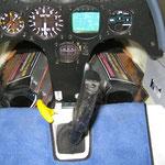 Flug-Akkuhalter in Flugbereitem Zustand