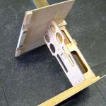 Führungshalter-/Montagebrett Turbinen Elektronik