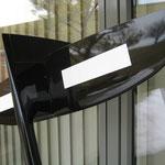 """Detail Leitwerke fertiges Modell """"Unterseite"""""""