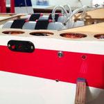 """DPSI RC-Schalter und Zündungs-LED """"Montiert"""""""