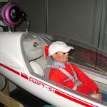 Kerosintank-/Turbine-/Sitzprobe Pilot