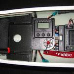 Detail S-BUS-Weiche-/Display-/Magnettankschalter