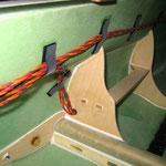 Detail RC-Verkabelung für Tragflächen und Leitwerke