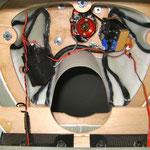 Prov. montierter Motordom von Innen