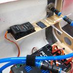 Detail RC-Empfänger B Montage/Platzierung