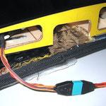 """Detail RC-MPX-Steckerverbindung """"Tragfläche/Rumpf"""""""