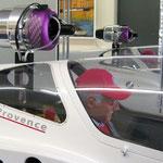 """JetCat P160 mit Haltevorrichtung """"Montiert"""""""