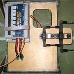 RC-/Seitenruder-Montagebrett