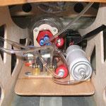 Montagebrett eingebaut (von vorne)