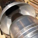 Detail Turbine-/Schubrohrtrichter