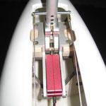 Detail Bugfahrwerk