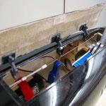 Detail Bugrad-Schachtabdeckung mit Halter EZF-Akku-/Schubzylinder