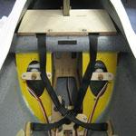 "Montagebrett Turbinenelektronik-/Tankbefestigung  ""Montiert"""