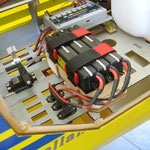 Akktuelle RC-Control und Zündungsakkus, 3Stk. TP-2S-Lipo, 5'400 mAh