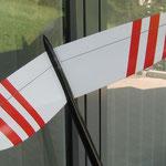 """Detail """"Oberseite"""" Leitwerk"""