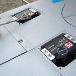 Tragfläche, Servos-/Anlenkungen Flap's