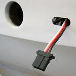 S-BUS-Stecker Tragfläche Rumpfseitig