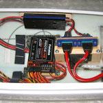 Empfänger-/DPSI Micro RV mit MPX Akkuanschlüsse