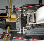 EZF-Bremse im eingefahrenen Zustand