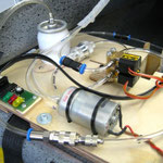 "Montagebrett Turbinenelektronik ""Detail"""