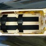 Neuer Flugakkuhalter für 2x 5S-Lipo mit 5'200mAh