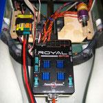 "Halterung für PowerBox ""Royal SRS""-/Turbinen ECU-/Kerosinpumpe"