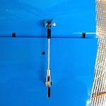 Höhenleitwerk, Detail Anlenkung