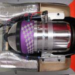 """Turbine JetCat P160 und Seitentanks """"Montiert"""""""