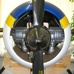 Motorhaube-/CFK-Latte-und Spinner