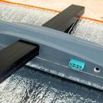Tragflächeanformung Rumpf mit MPX-RC-Stecker