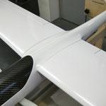 Tragflächenpassung am Rumpf