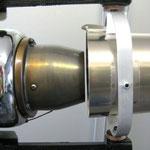 Detail Turbine und Vektor