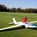 "Fertiges Modell ""Turbinen Testflug 21.10.2012"""