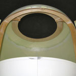 Motorhaube mit Öffnung-/Deckel für Akkuwechsel-/E-Motor