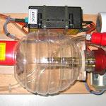 Montagebrett Turbinenelektronik