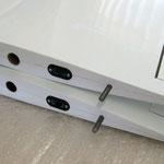 Wurzelrippe Tragfläche mit MPX-RC-Stecker und Rändelschraube für Arretierung