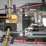 EZF-Bremse im ausgefahrenen Zustand