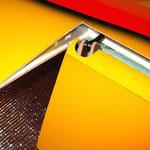 Flap/Landeklappen (Tragfläche) Detail Anlenkung