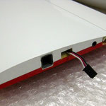 RC Steckerverbindung-/Steckung Tragflächenmittelteil