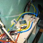 """Druckluftventile auf Druckluftbehälter-/Abdeckung """"Montiert"""""""