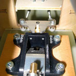 Detail Bugradmechanik mit Anlenkservo
