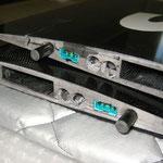 """Tragflächenwurzel mit PowerBox S-BUS-Stecker """"Montiert"""""""