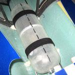 Detail Montage Haupttank