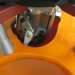 Gasanlenkung Motorseitig