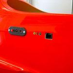 RC-Schalter und Turbinen-LED Platine