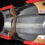 CFK-Verstärkungen Spanten-/Turbinenhalter