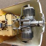 Detail Motor-/Zündungsmontage