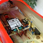 RC- Elektronik-Einbau